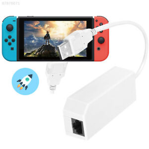 Details about EF7D New Nintendo Switch Wired Internet LAN Adapter USB  Ethernet Console New