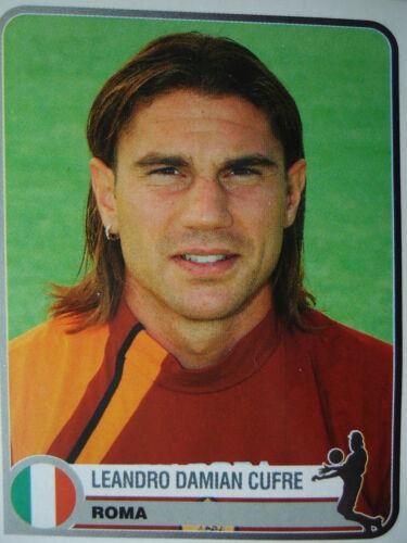 Panini 334 Leandro Damian Cufre AS Roma Champions Europe 1955-2005