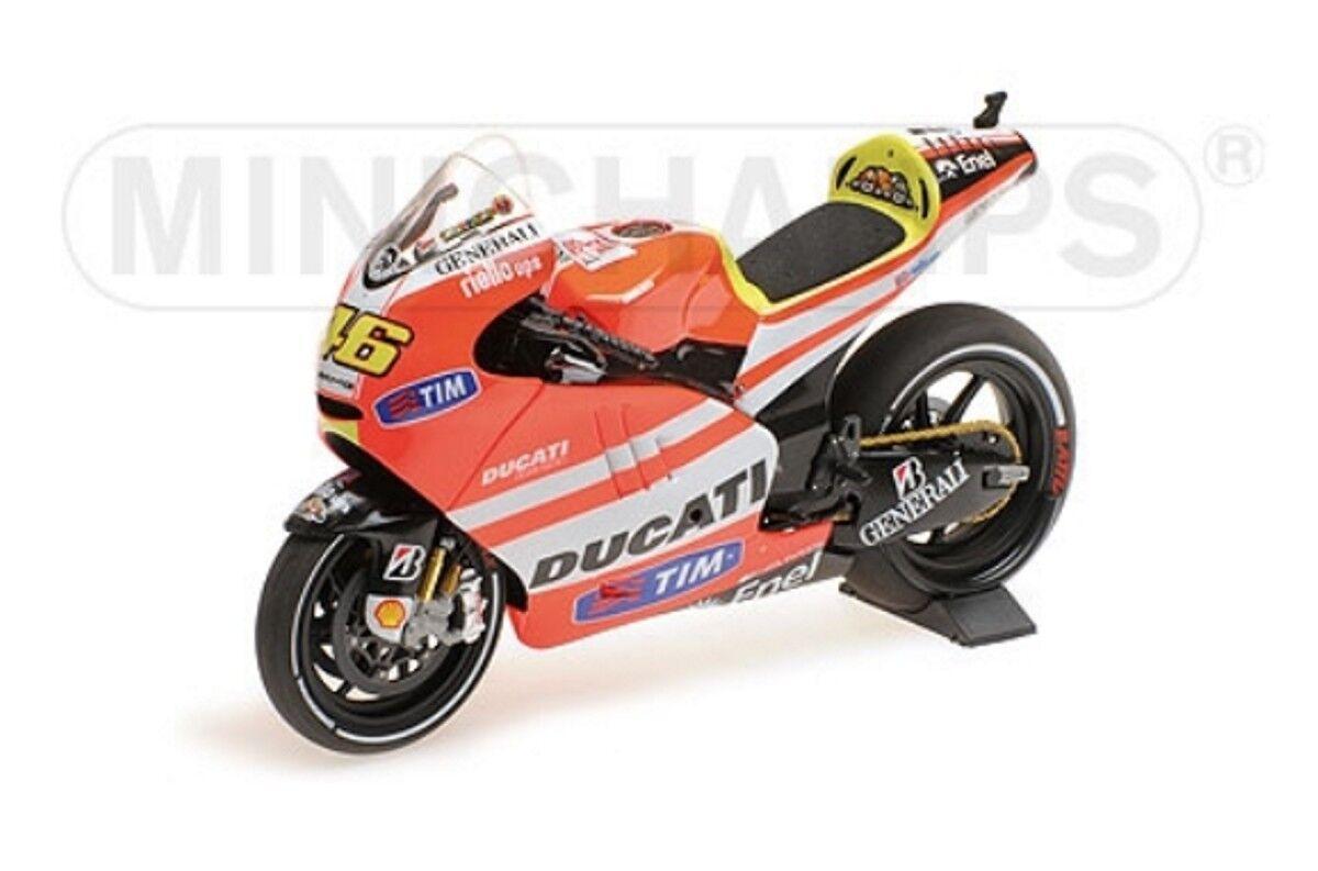 Ducati gp11.1 Valentino Rossi Moto GP 2011 1 12 Minichamps 122111046 NOUVEAU & NEUF dans sa boîte