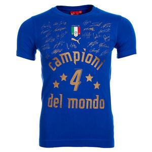 Italien puma gagnants tee vainqueur de la coupe du monde haut 733625 01 ebay - Gagnant de la coupe du monde ...