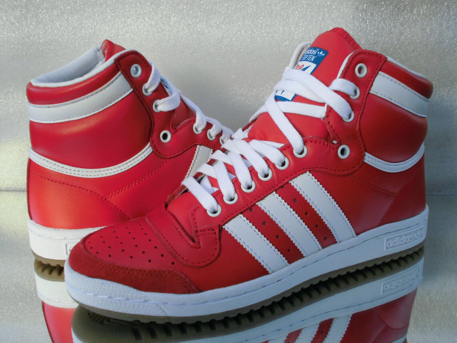 Adidas Originals Hi top ten HIGH d65163 Baskets d65163 HIGH cours/de sport rouge nouveau ac18bd
