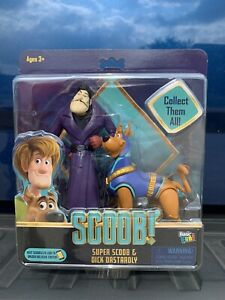NEW 2020 SCOOBY DOO 2 PACK ACTION FIGURE BASIC FUN SUPER SCOOB /& DICK DASTARDLY