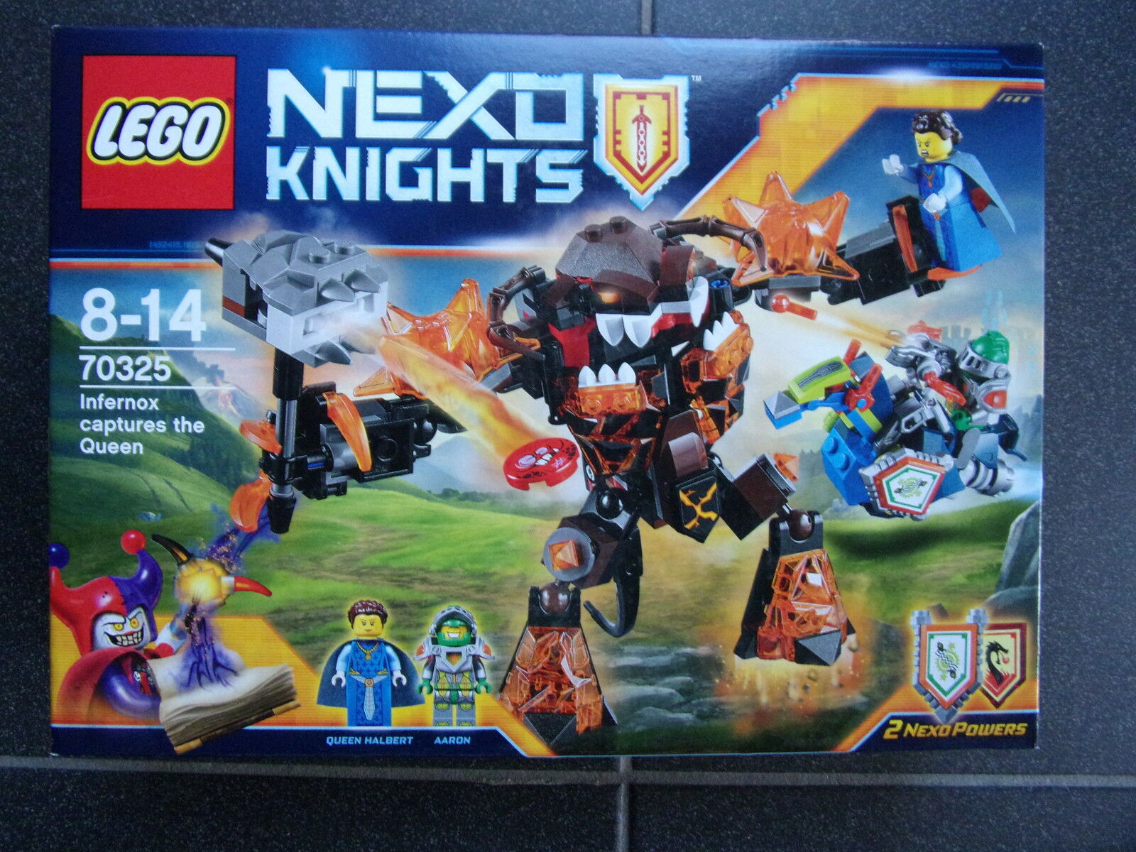 Lego Nexo Nexo Nexo Knight 70325  - Infernox captures the Queen  - NEU & OVP 16857c