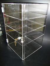 Displays2buy Acrylic Countertop Display 12 X 12 X 19 Locking Security Showcase