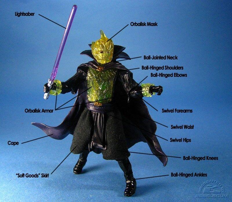 STAR Wars Darth Bane Lord Sith evoluzioni Loose UK