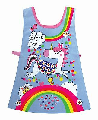 Dinosaurs Childrens Tabard Apron Birthday Gift Rachel Ellen Fun Funky Cool