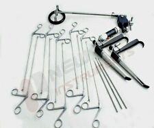 Micro Laryngeal Surgery Set Pedestal Laryngoscope Ent Instruments Set
