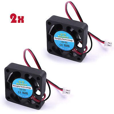 5X Cooling Fan 12V DC For 3D Printer RAMPS Electronics  Extruder RepRap Prusa