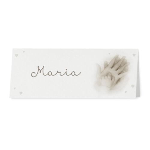 Tischkarten 726741D 6 Stk Platzkarten Namenskarten Tischkärtchen Hochzeit
