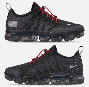 Details about NIKE AIR VAPORMAX RUN UTILITY MEN'S RUNNING BLACK REFLECT SILVER ANTHRACITE