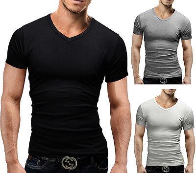 Merish V-Neck T-Shirt Kurzarm Hemd Polo Shirt Neu 47