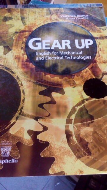 GEAR UP- ENGLISH MECHANICAL AND ELECTRICAL TECHNOLOGIES - senza CD