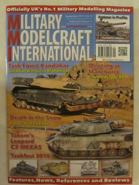 Military Modelcraft International - September 2019 Modeling Magazine