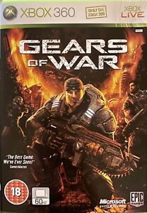 Gears Of War - Microsoft Xbox 360 Supplied Complete (FreePost)