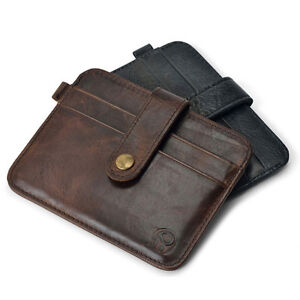 Fashion-Leather-Men-Slim-Credit-Card-Holder-Mini-Wallet-ID-Case-Purse-Bag-Pouch