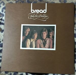 BREAD-Baby-I-m-A-Want-You-1972-Vinyl-LP-Elektra-K42100-A1-B1-1st-Ex-Ex