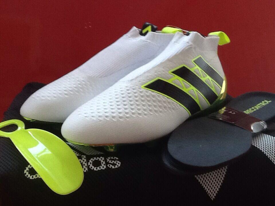 Adidas Ace 16 Purecontrol FG donna BB0786 bianca Dimensione 8 donna