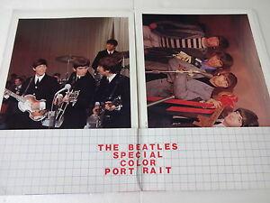 RARE !! BEATLES [ THE BEATLES SPECIAL COLOR PORT RAIT ]