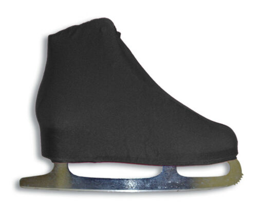 A/&R Universal Figure Skate Cover Lycra Stretch Ice Skate Boot Cover Black 5 SCB