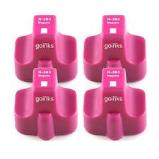 4 Magenta Ink Cartridges for HP Photosmart 8250 C5183 C6188 C7180 C8180 D7260