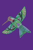 Toland Garden Flag Totem Animal Spirits Hummingbird 12.5 X 18 Made In Usa