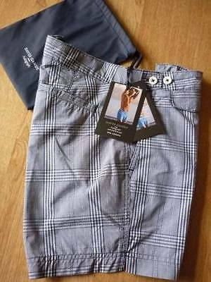 30 Girovita Navy Check David Gandy Per Autografo Pantaloncini Marks And Spencer-