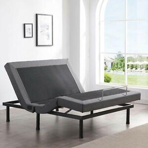 Full Size Electric Bed Frame Mattress Adjustable Massage Medical