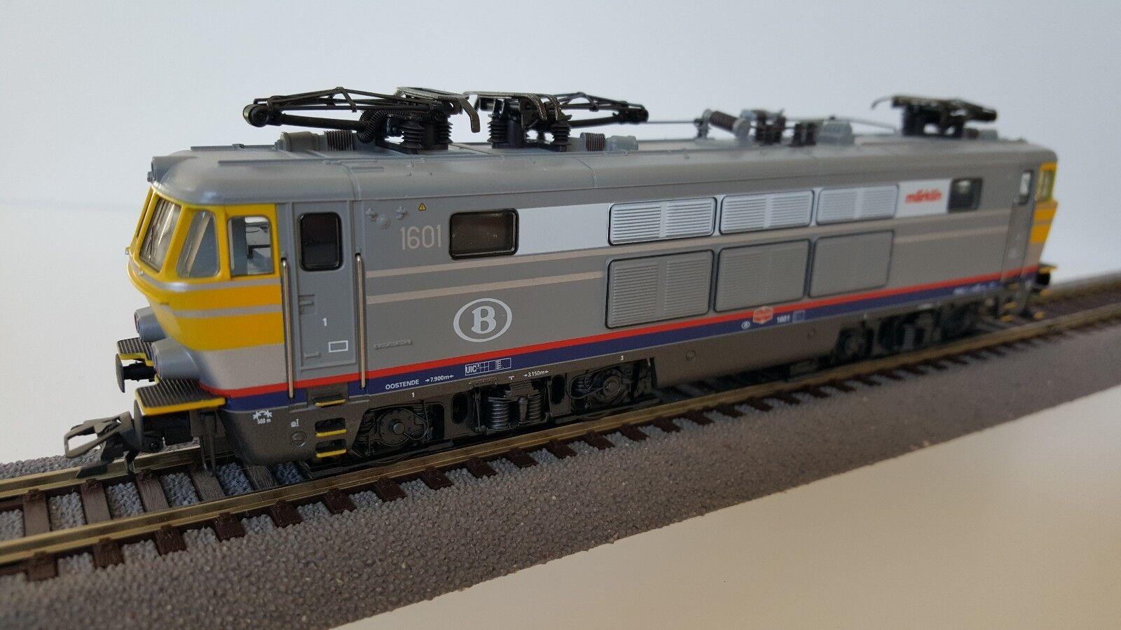 h0 33632 elektrolokomotive serie 1601 delle SNCB in OVP Top