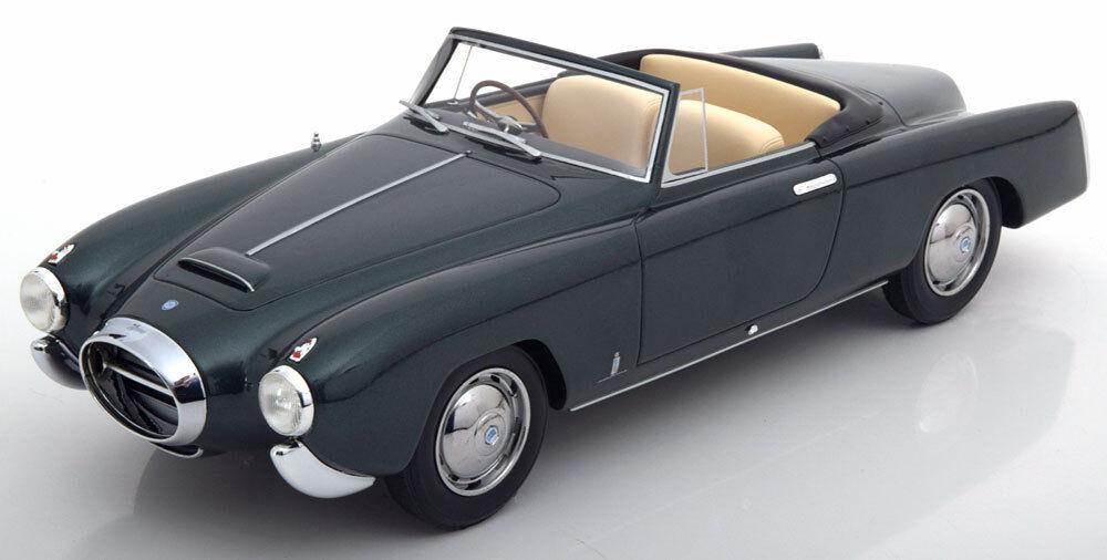 1953 Lancia Aurelia PF200 Cabrio Dunkelgrün Met. von Bos-Models Le 504 1 18