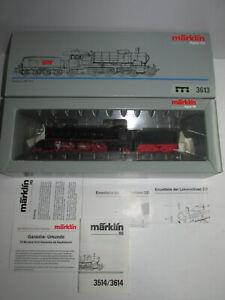Maerklin-3613-Dampflokomotive-mit-BN-18-106-der-DRG-Digital-in-OVP-Spur-H0
