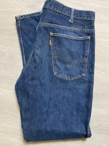 levis vintage big E orange tag mens jeans