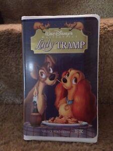 Walt Disney S Lady The Tramp 1998 Vhs Masterpiece Ebay