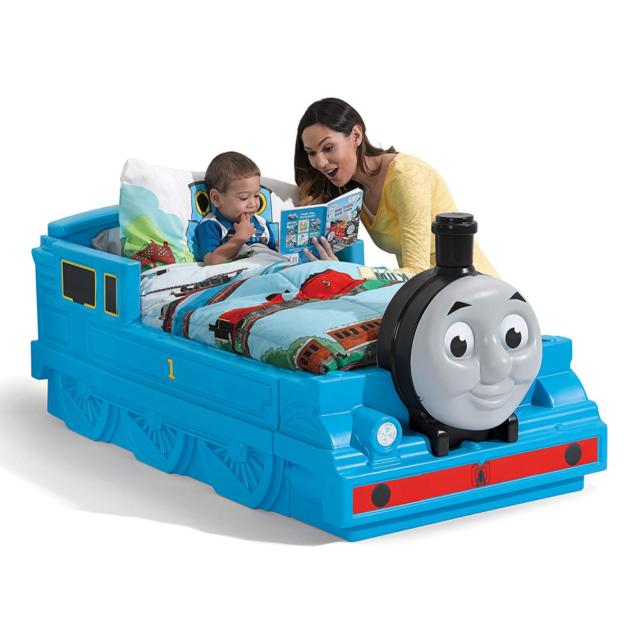 Boy Toddler Bed Frame Single Thomas The Train Childrens Kids Bedroom