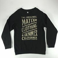 Matix Og's Crew Sweatshirt In Heather Black M L Xl