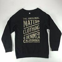Matix Og's Crew Sweatshirt In Heather Black M L Xl