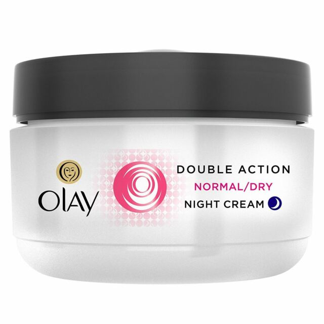 Olay Double Action Moisturiser Normal Dry Skin Night Cream Classic Care 50ml