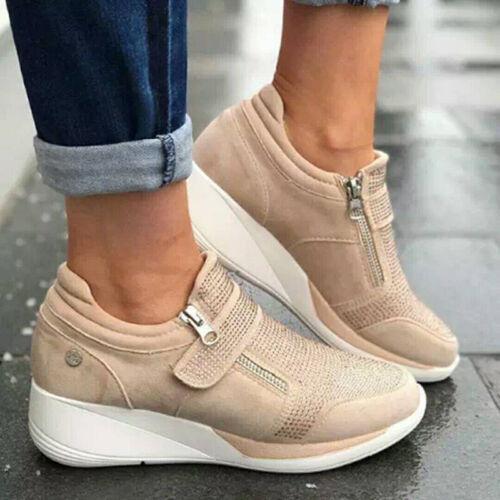 Damen Sneaker Laufschuhe Sportschuhe Turnschuhe Freizeit Running Schuhe Fashion