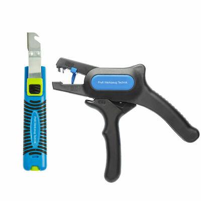 Profi Abisolierwerkzeug Kabelschneider Entmanteler abisoliermesser 8 bis 13 mm