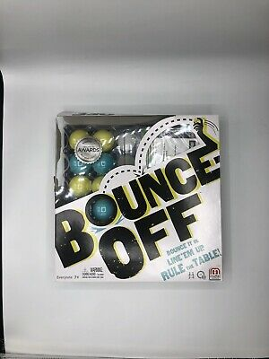 Bounce-Off Game Mattel Fast /& Fun Travel Size New In Box Ages 7 2 Players