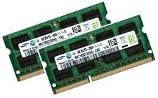 2x 4GB 8GB RAM DDR3 1600 MHz für Dell Alienware M17x R3 M17xR3 Samsung Speicher