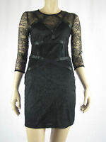 T By Bettina Liano Ladies lace Dress Size 6 Colour Black