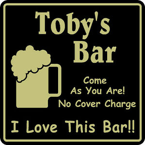 New-Personalized-I-Love-This-Bar-Beer-Pub-Gift-Sign-3-Custom-USA-Made