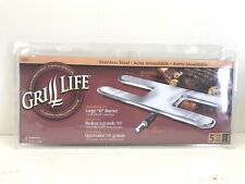 """Lot of 5 New 19.5/"""" Grillmark Single Venturi Stainless Steel Gas Grill H Burners"""