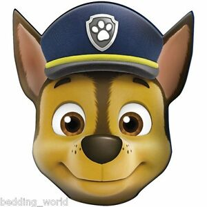 FILLED-CUSHION-CHASE-HEAD-SHAPED-PAW-PATROL-CANINE-POLICE-COP-DOG-BLUE-BROWN