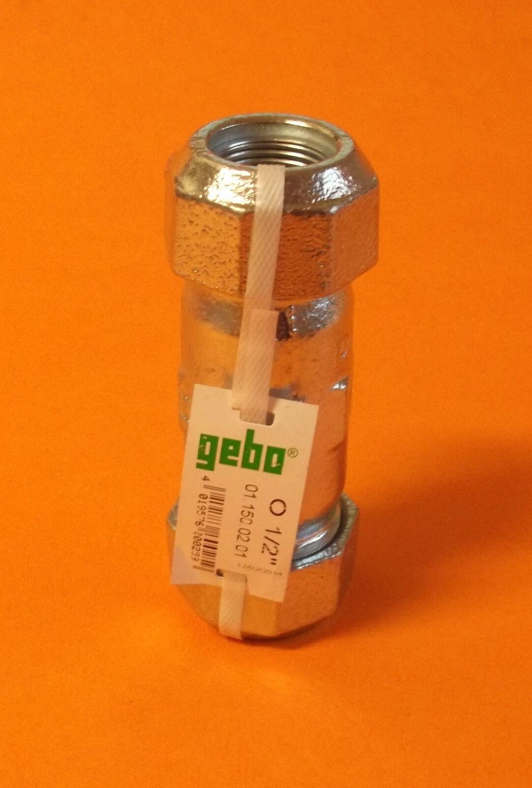Gebo Verschraubung Klemmverbinder Typ 0 ( O ) wählbare Größe