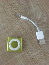 Apple iPod shuffle 4. Generation Gelb (2GB) (aktuellstes Modell)