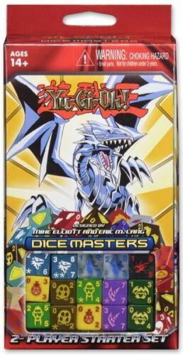 Brand New English and Sealed Starter Set Dice Masters Yugioh