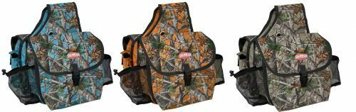 Showman REAL OAK CAMO Cordura Nylon INSULATED 12   x 5  x 10  SADDLE BAG  brands online cheap sale