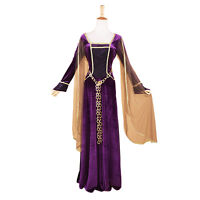 Adult Renaissance Queen Faire Maiden Princess Fancy Dress Up Halloween Costume