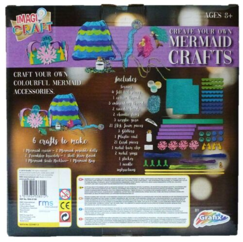 6 Crafts To Make New Craft Set Grafix Create Your Own Mermaid Crafts